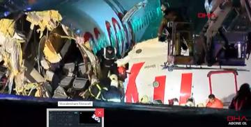 Sabiha Gökçen Havalimanı'nda pistten çıkan uçağın pilotu ile kule konuşmaları ortaya çıktı!