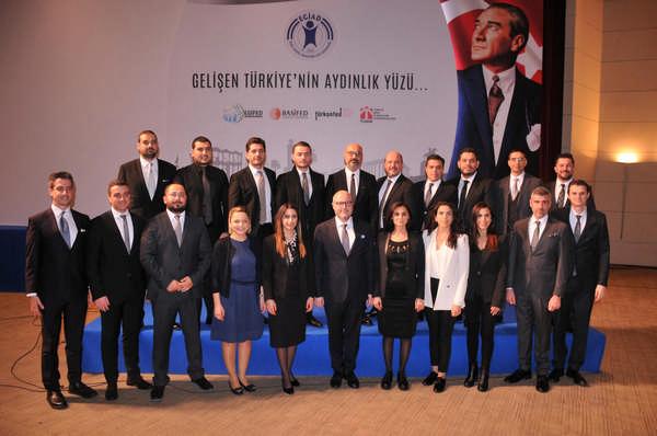 EGİAD Genel Kurulu Yapıldı EGİAD'ın Yeni Başkanı Mustafa Aslan Oldu