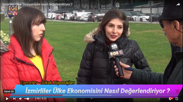 İzmirliler Ülke Ekonomisini nasıl değerlendiriyor ?