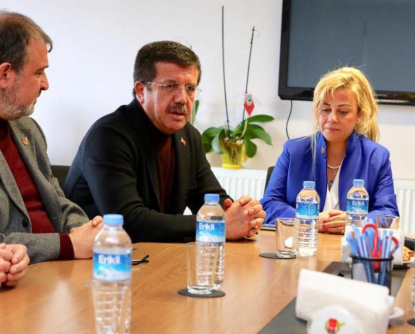 """Zeybekci'den İGC'ye nezaket ziyareti """"Halkın haber alma hakkı engellenmemeli"""""""
