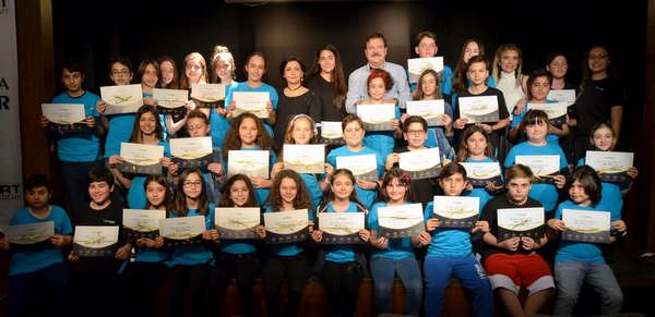 Folkart Academy, 2019 yılı Bahar Dönemi Tiyatro Atölyesi eğitimleri tamamlandı.