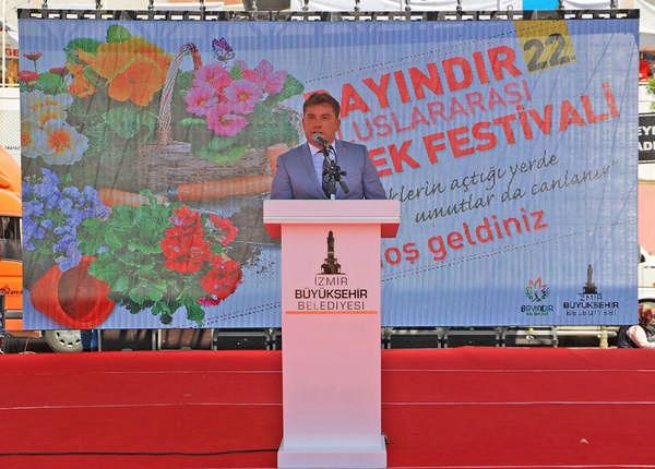 Bayındır Çiçek Festivalinden Görkemli Açılış