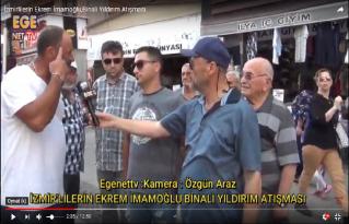 İzmirlilerin Ekrem İmamoğlu,Binali Yıldırım Atışması