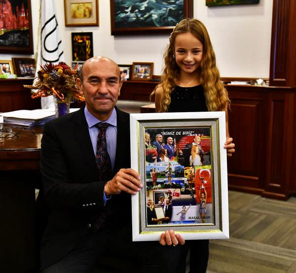 """Başkan Soyer, İzmir'in """"Gururları""""nı ağırladı"""