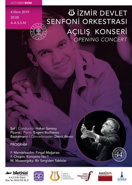 İzmir Devlet Senfoni Orkestrası'ndan muhteşem açılış