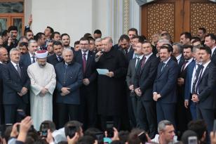 Bilal Saygılı Camii Cumhurbaşkanı Erdoğan'ın Teşrifleri İle İbadete Açıldı