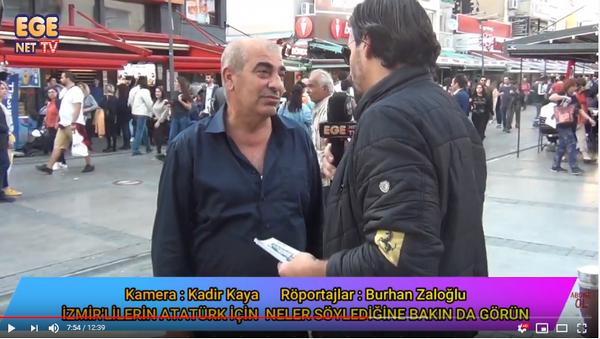 İzmirliler Atatürk için neler söyledi neler mutlaka izleyin