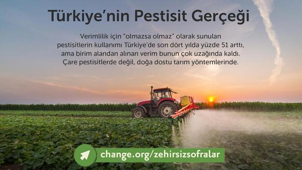 Türkiye'nin Pestisit Gerçeği