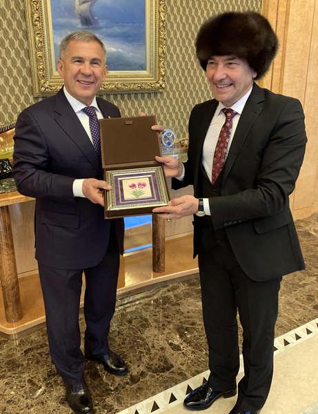 Tataristan ile İzmir arasında işbirliği köprüsü kuruldu