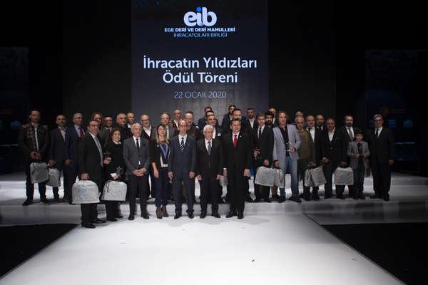 Deri sektöründe ihracatın yıldızları 36 firma ödüllendirildi