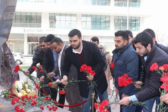 AK Gençler Fethi Sekin'i dualarla yad etti…