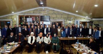 MÜSİAD İzmir'de SENYAP Yatırım ortaklığı ve GABORAS Gayrimenkul Borsası Tanıtıldı