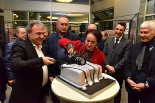 Gazeteciler Bornova'da buluştu