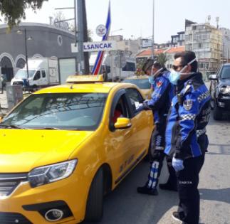 İzmir'de taksilere denetim