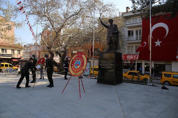 ATATÜRK'ÜN BURHANİYE'YE GELİŞİNİN 86. YIL DÖNÜMÜ BURUK KUTLANDI