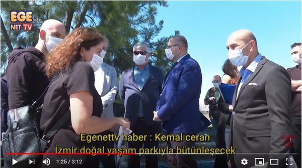 İzmir doğal yaşam parkıyla bütünleşecek