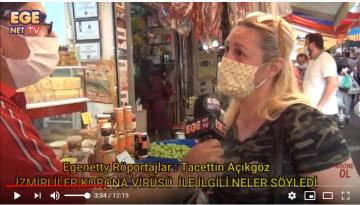 İzmirliler Korona virüsü ile ilgili neler söyledi