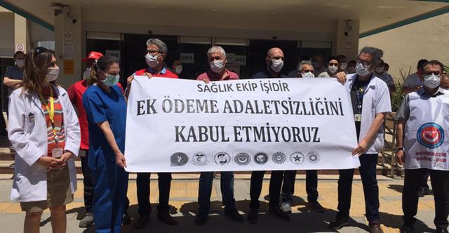Sağlık Çalışanları Arasında Ek Ödeme Adaletsizliğine Son Verilsin!