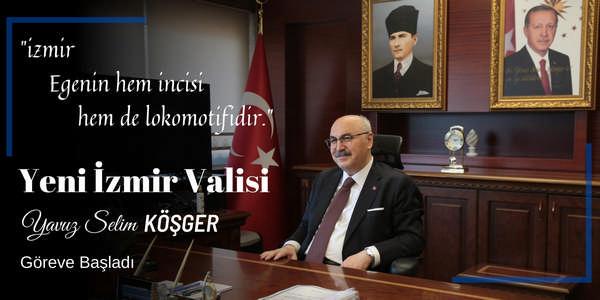Valimiz Sayın Yavuz Selim Köşger İlimizdeki Görevine Başladı