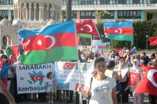 İZMİR'DEN İŞGAL PROTESTOSU