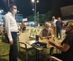 Başkan Kayalar'dan Gece Mesaisi