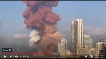 Lübnan'ın Başkenti Beyrut'ta Patlama Ve Sonrasında Yaşananlar
