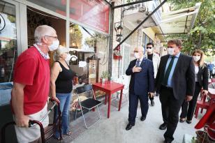 İzmir Valisi Köşger Urla'yı ziyaret etti