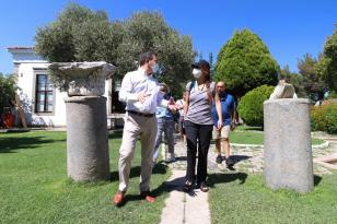 PAB Başkanı Gabriela Cuevas Barron'dan Bergama'ya ziyaret