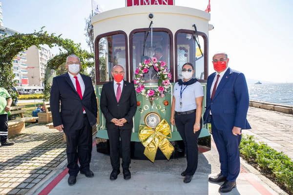 "Hoş geldin ""nostaljik tramvay"""