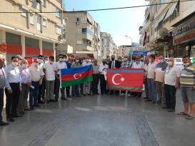 İYİ Parti Bayraklı'dan Azerbaycan'a destek Tek Mi̇llet İki̇ Devlet