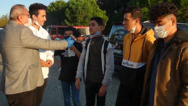 BORNOVA AŞIK VEYSELDEKİ ÇADIR KENT'TE HAYAT NASIL GİDİYOR
