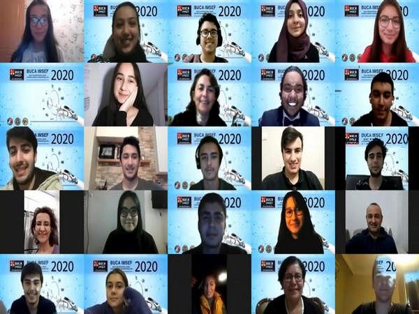 Dünyanın genç bilim insanları Buca'da buluştu