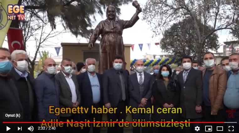 Adile Naşit İzmir'de ölümsüzleşti