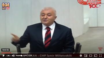 Tuncay Özkan CHP İzmir Milletvekili Meclis Konuşması AKP'lileri çıldırttı