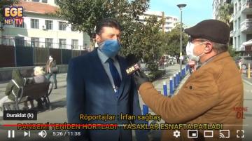 PANDEMİ YENİDEN HORTLADI YASAKLAR ESNAFTA PATLADI