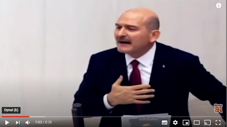 Gece Meclis Karıştı..!! Soylu HDP'lilere Ağzına Geleni Saydı.