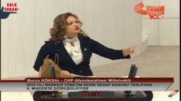 Bir Yiğit Kadın Meclisi İnletti! Burcu Köksal'dan AKPlileri Bile Hayran Bırakan Konuşma!