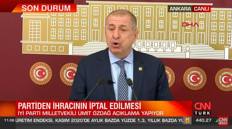 """Ümit Özdağ: """"İYİ Parti varlığını CHP'ye borçlu"""" çok sert konuştu!"""