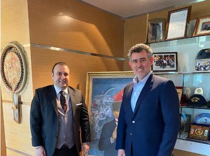 Metin Feyzioğlu Emre Sarıgedik buluşması