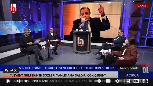 Tuğrul Türkeş'ten MHP'ye gönderme: Delinizi zapt edin.