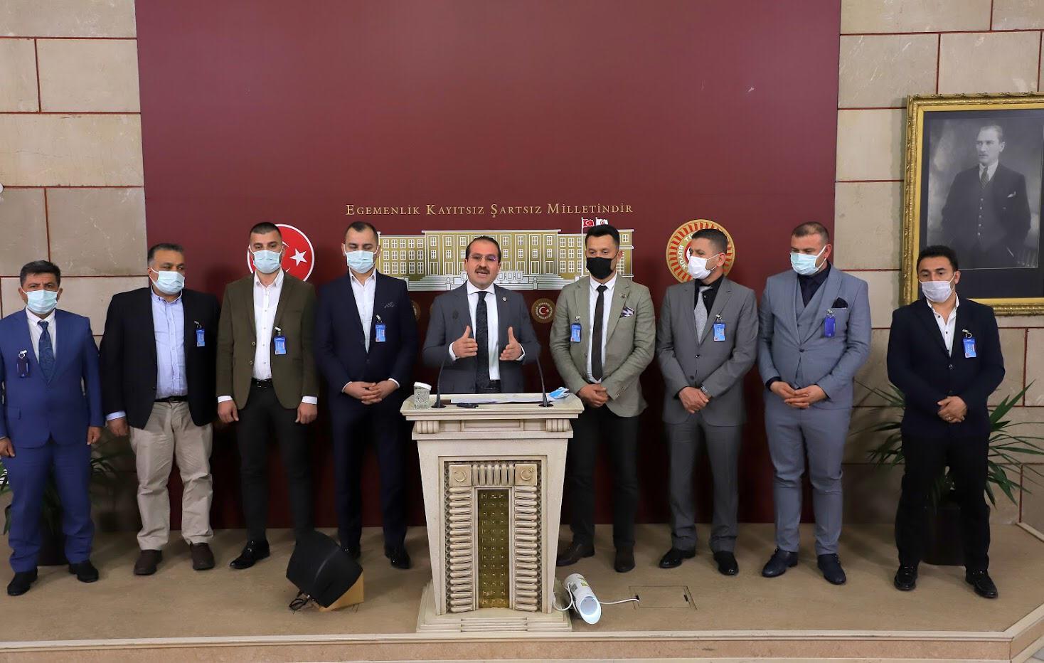 AK PARTİLİ KIRKPINAR'DAN 'O BİLDİRİYE' TEPKİ